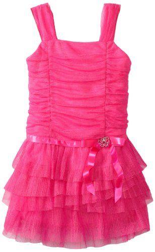 Amy Byer Little Girls' Mesh Tier Dress, Fuchsia, 5 Amy Byer http://www.amazon.com/dp/B00DGPE7KK/ref=cm_sw_r_pi_dp_X5Ijub0B96CX3