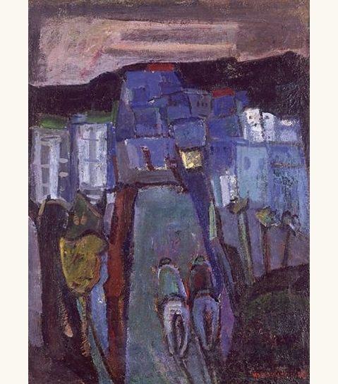 "lilithsplace: ""'Riders in Safed', 1940 - Zvi Mairovich (1911–1974) """