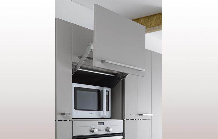 MEUBLE LIFT SPECIAL MICROONDES Nouvelle Maison Pinterest - Cache meuble cuisine