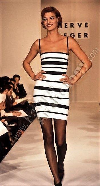 17ce184b90ab Linda Evangelista - Herve Leger Runway Show 1992