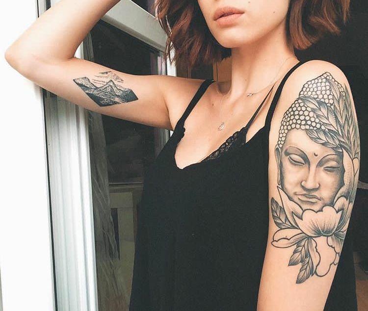 Pin by vbkm_vz on Tattoos   Buddha tattoos, Tattoos, Body ...