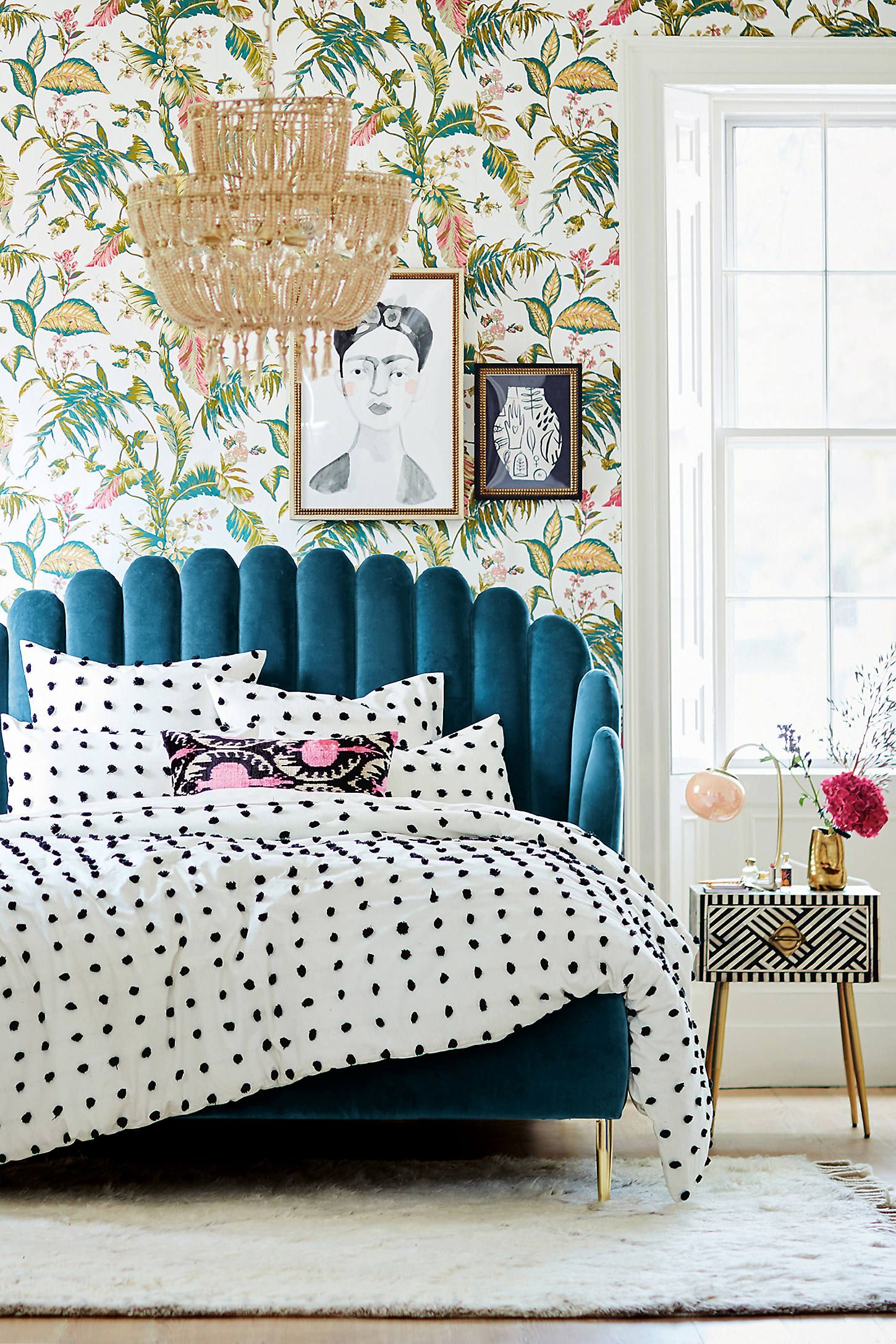 Tufted Makers Quilt by Anthropologie in White, Bedding in