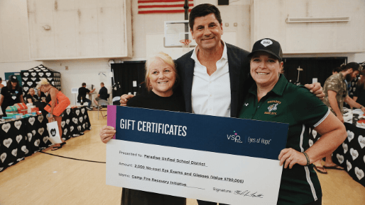 Eye Care And Eyewear For Camp Fire Victims Vision Insurance Eye