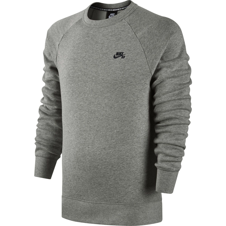 Predownload: Nike Sb Icon Crew Fleece Mens Jumper At Extremepie Com Sweatshirt Tops Women Long Sleeve Tops Long Sleeve Tshirt Men [ 1500 x 1500 Pixel ]