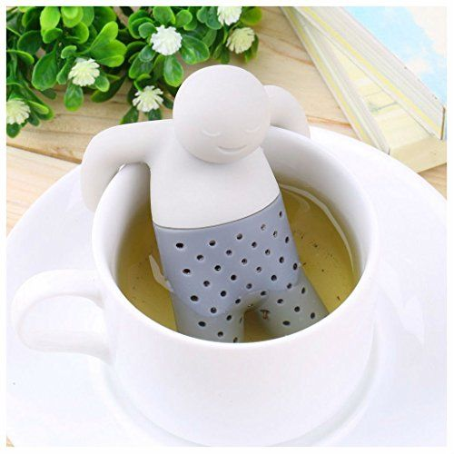 Creative Tea Infuser Strainer Loose Tea Leaf Strainer Herbal Spice Filter Difusor para uso en el hogar por TheBigThumb