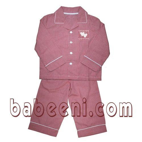 baby dresses - pajamas smocked-pajamas
