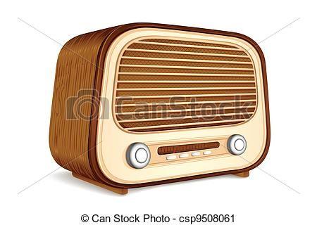 Old Radio Drawing Google Search Antique Radio Vintage Antiques Vintage Radio