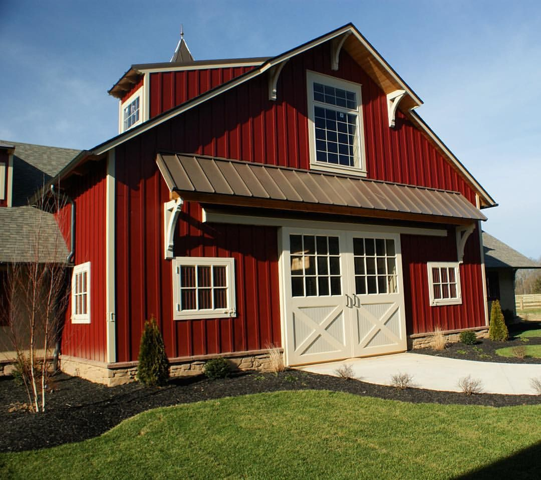 Reisterstown Md Bank Barn With Garage: Timber Frame Barn Builders In Pa