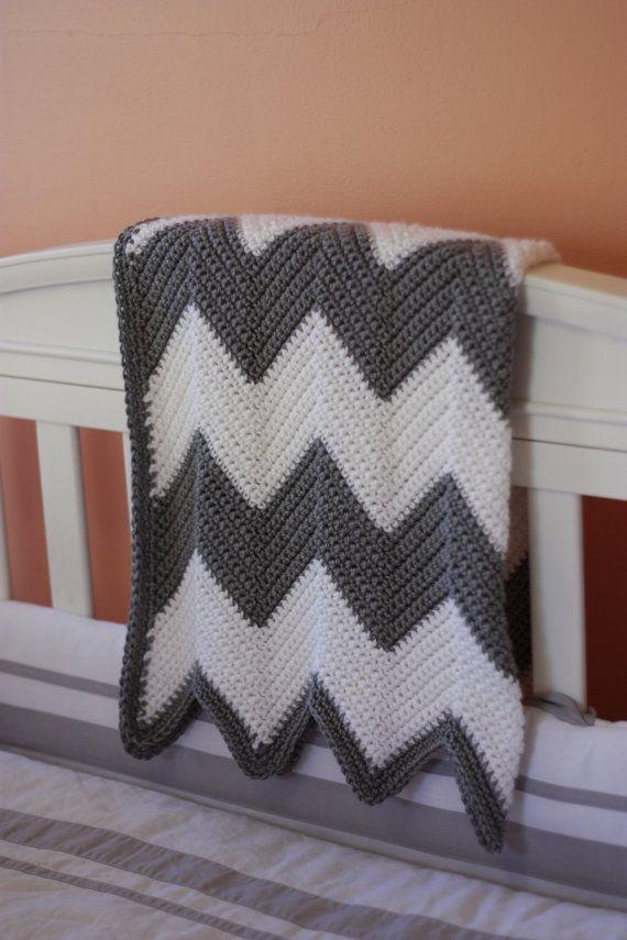 Chevron stripe baby blanket crochet pattern instant download on chevron stripe baby blanket crochet pattern instant download on etsy sold dt1010fo
