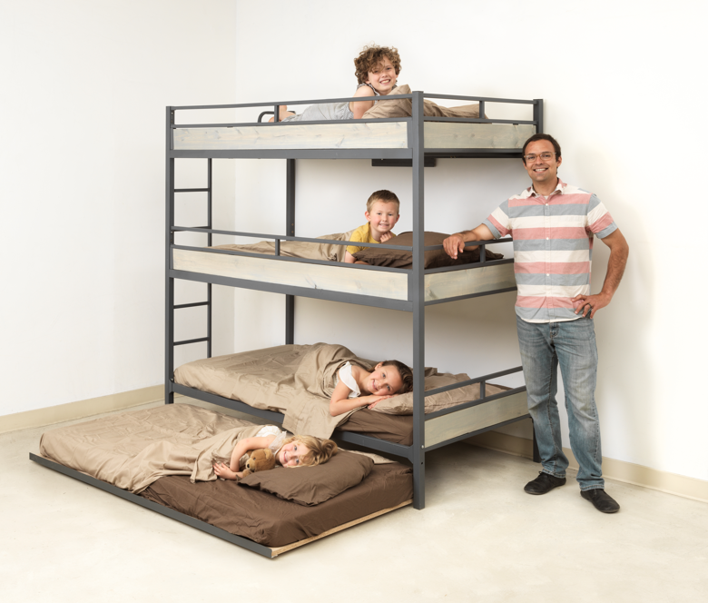 Triple Bunk Bed Tribunk Bunk Beds Toddler Bunk Beds Triple