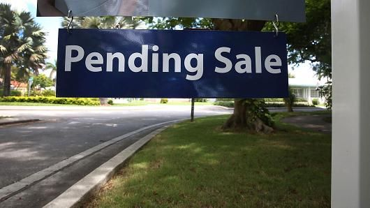 At 10:00 Am Est Sept Nar Pending Home Sales (Contracts Signed But