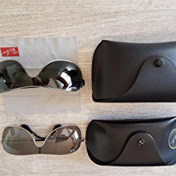 Ray-Ban mixte adulte Rb 3471 Montures de lunettes, Gris (Gunmetal Black), 32