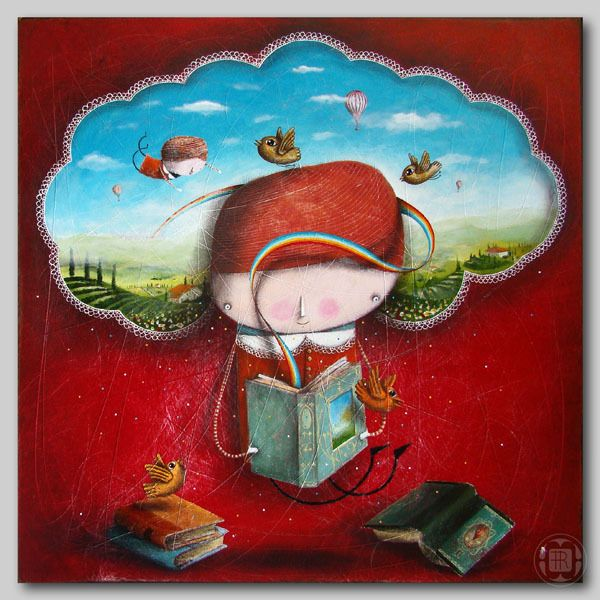 *magic books* - Artista: Robert Romanowicz