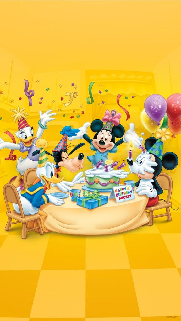 Download Our Happy Birthday Mickey Wallpaper With Images