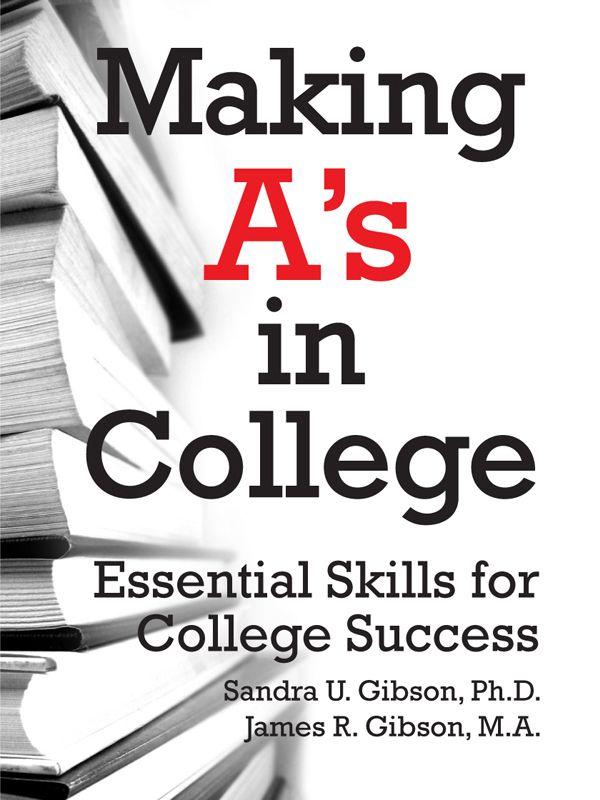 study skills for college students pdf