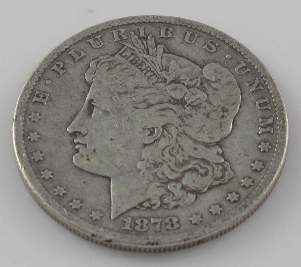 RARE CARSON CITY 1878CC SILVER DOLLAR90 SILVERG