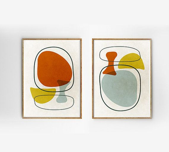 Pin By Stefanon On Astratto In 2020 Modern Art Abstract Scandinavian Art Retro Prints