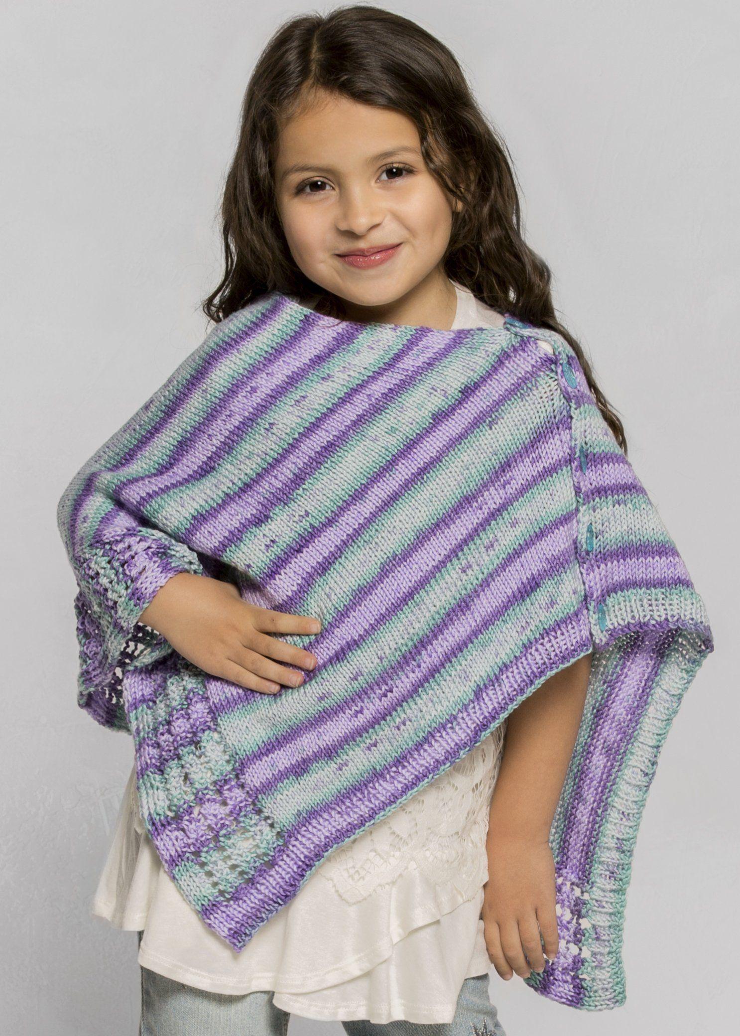 Verbena Poncho | Knitting patterns free, Poncho knitting ...