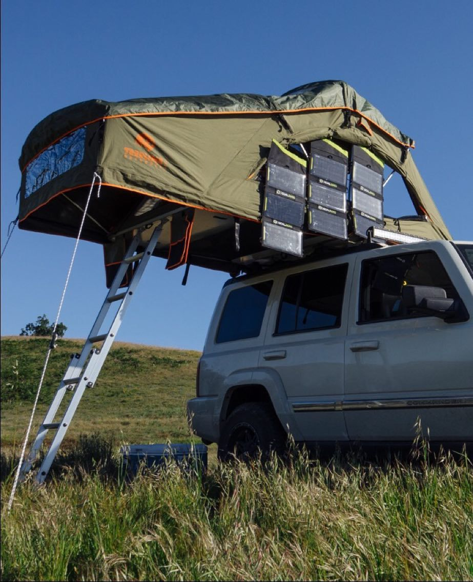 First Look Tepui u0027Kukenam Skyu0027 Rooftop Tent | Tents Trailer tent and Airstream & First Look: Tepui u0027Kukenam Skyu0027 Rooftop Tent | Tents Trailer tent ...