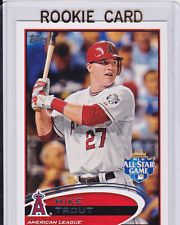 Mike Trout Rookie Card Mike Trout All Star Rare Rookie Card Topps