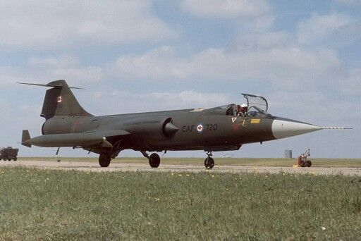 Canadian F 104g Starfighter Lockheed Canadian Forces