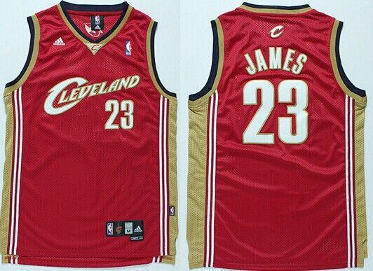 Cleveland Cavaliers #23 LeBron James 2003 White Swingman Jersey