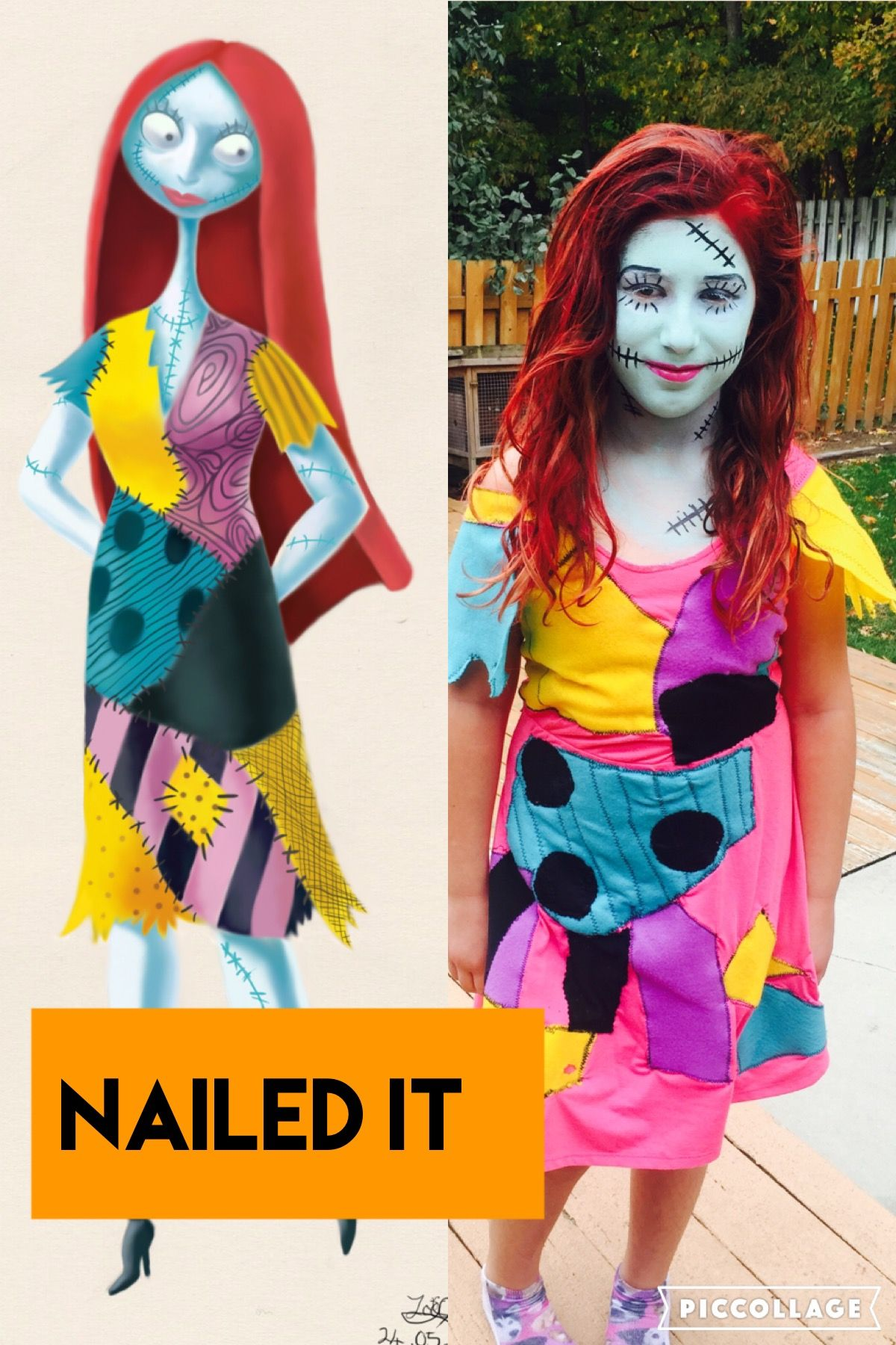 Nightmare before Christmas Sally costume Halloween