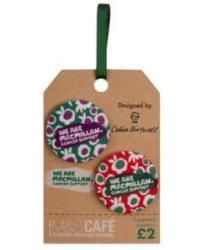 Celia Birtwell collaborates with Macmillan Cancer Support