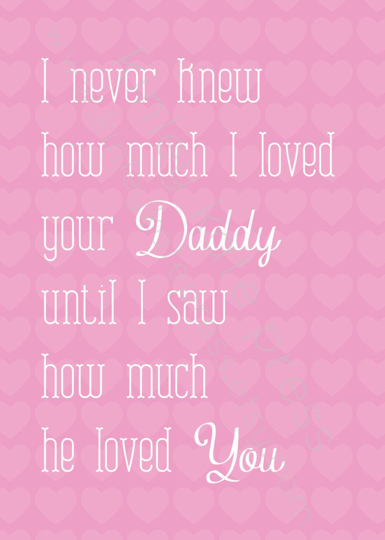 I never knew Baby Girl Pink Print, Nursery Print, Baby GIRL