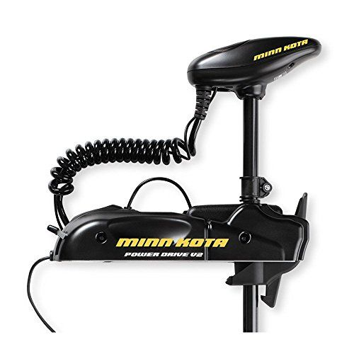 Minn Kota Powerdrive V2 Bow Mount Trolling Motor With Foot Control 55 Pound Thrust 48 Inch Shaft See This Great Product