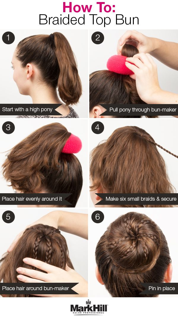 Who Says Buns Can T Be Glam Add Some Braids And Use A Bun Maker For An Even More Fabulous Version Of The Go Hair Bun Maker Competition Hair Bun Hairstyles