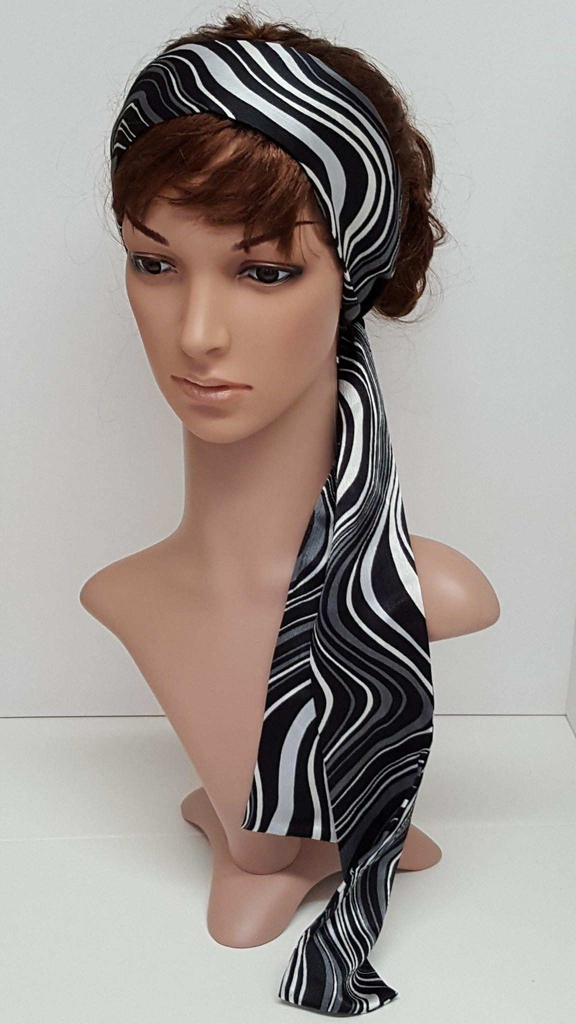 Long satin hair scarf d81827236dd