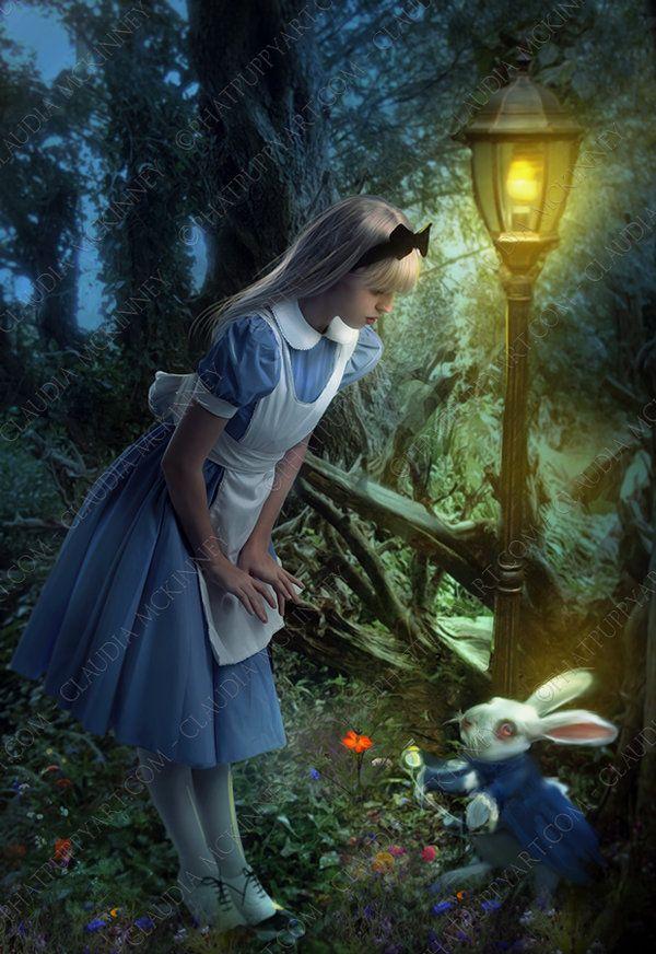 Youre Late, Alice by =Phatpuppyart on deviantART