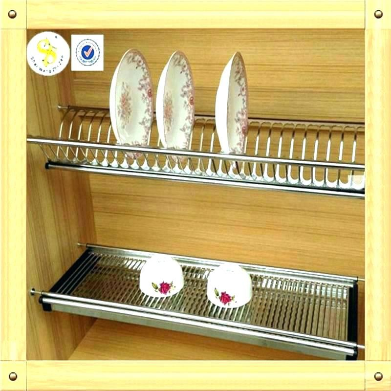 Plate Organizers Kitchen Organizer Cabinet Racks For Kitchens Dish