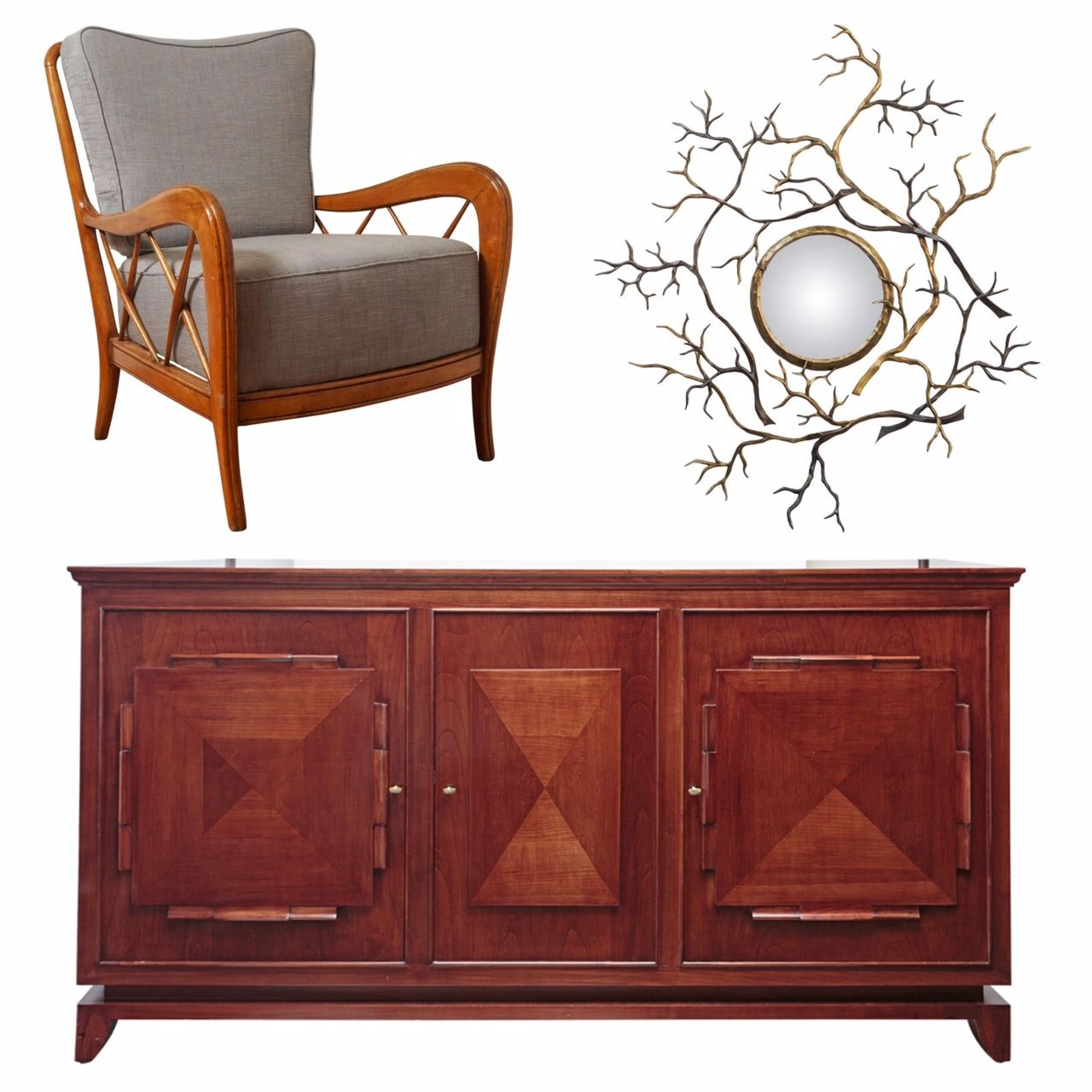 Special New Pieces At Foleycox HOME Include A Pair Of Paolo Buffa Armchairs An Herve Van Der