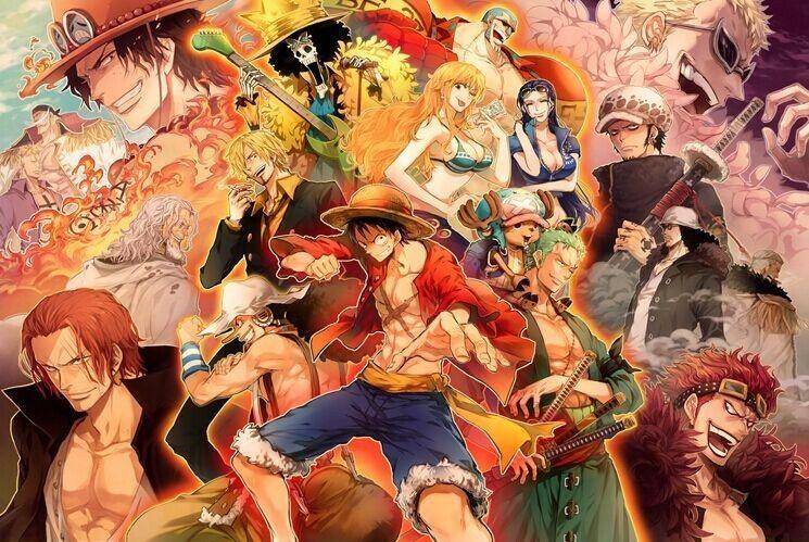 One Piece Anime, Hình ảnh, One piece