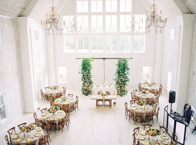 Gorgeous Rustic Glam Texas Wedding at the White Sparrow Barn - MODwedding -   11 white wedding Barn ideas