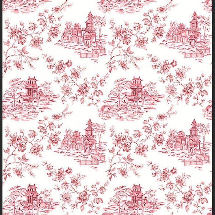 Papiers peints Laure - 22221 à vendre en ligne (Rouge et Blanc ...