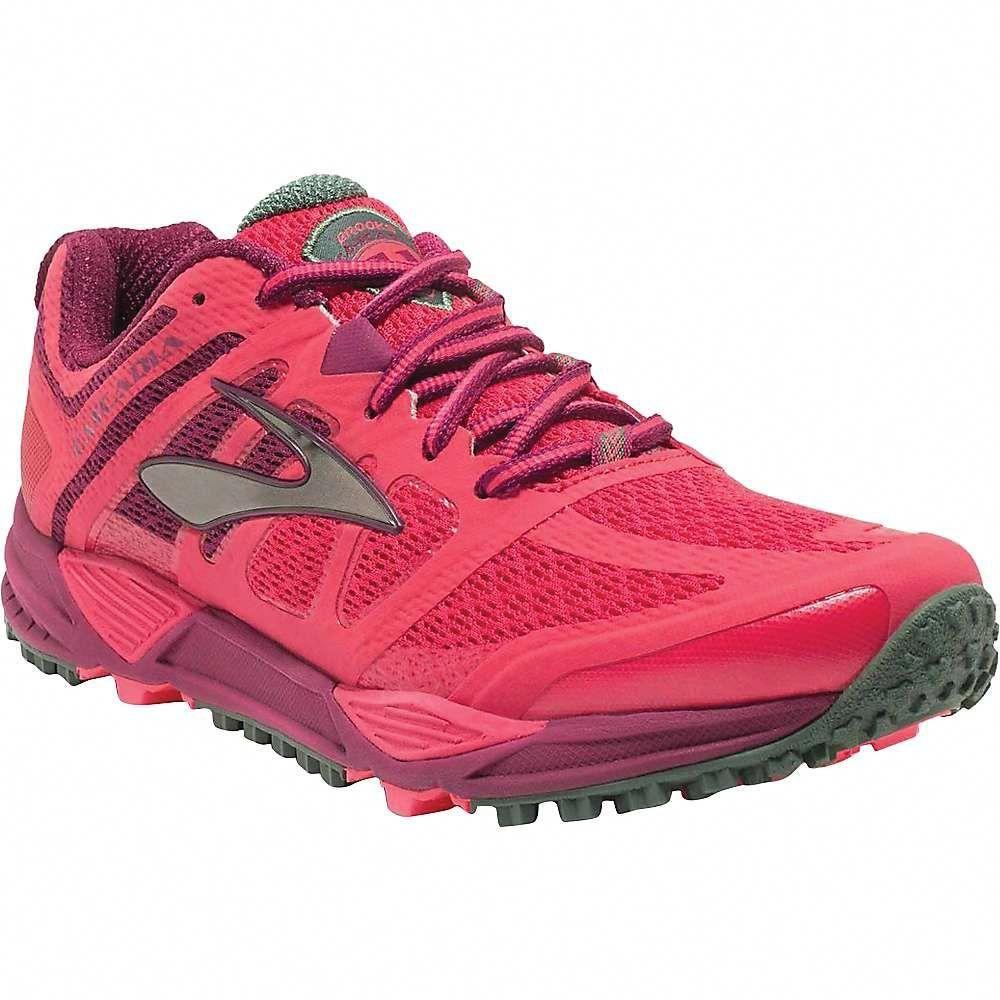 ec252bd10da Brooks Women s Cascadia 11 Trail Running Shoe - 7.5 - Teaberry   Duck  Cherry   Raspberry Radiance  TrailRunning