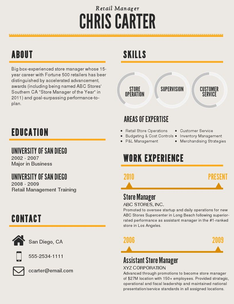 The Best Ideas for Resume Styles 2019 Best resume