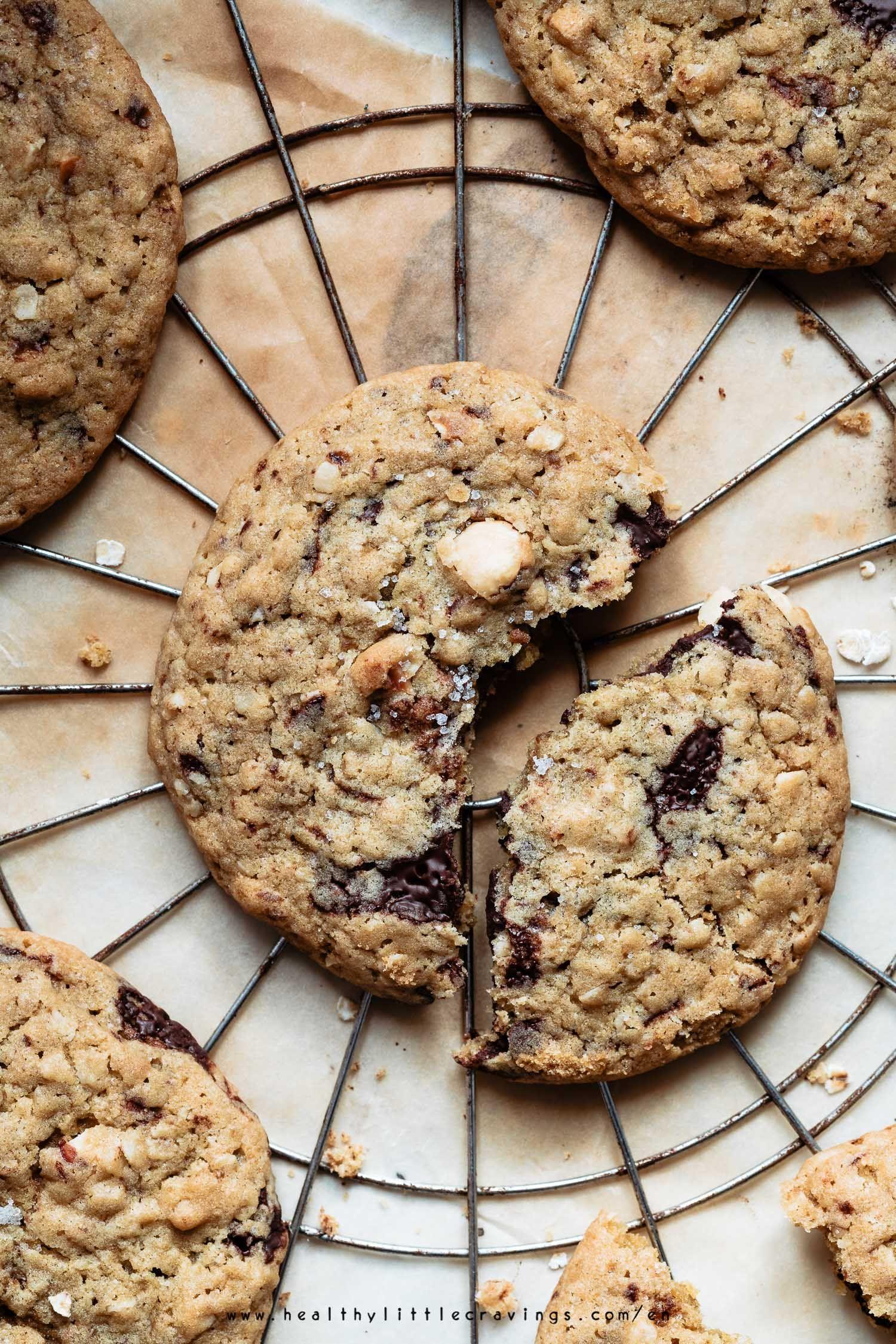 Jumbo Oatmeal Chocolate Chip Cookies Oatmeal Chocolate Chip Cookies Chocolate Chip Oatmeal Cookies Recipes Chocolate Chip