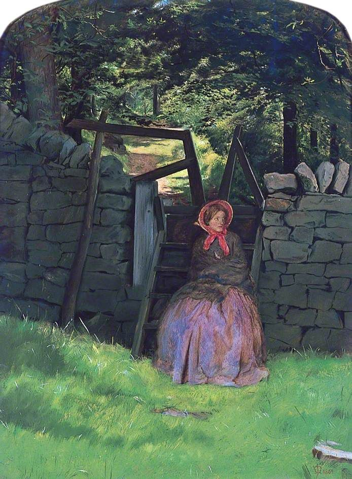 Waiting by John Everett Millais 1864