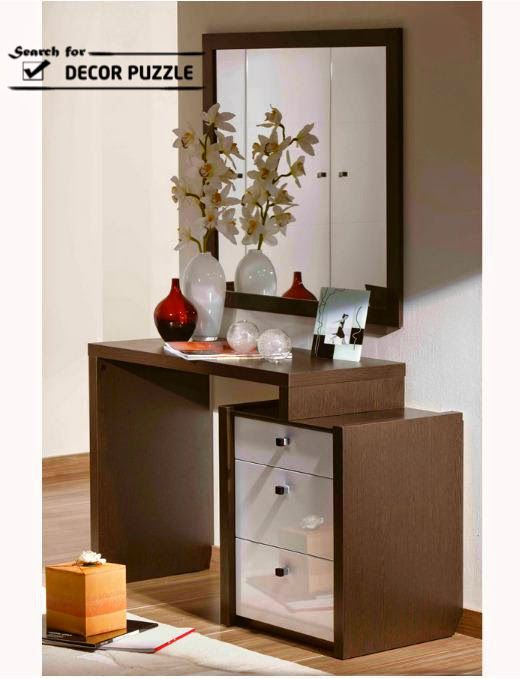 Latest Luxury Dressing Table Designs With Mirror For