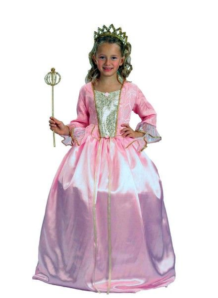 Rosa Prinzessin Kostüm: Kinder Prinzessinnenkostüm edel | Prinzessin ...