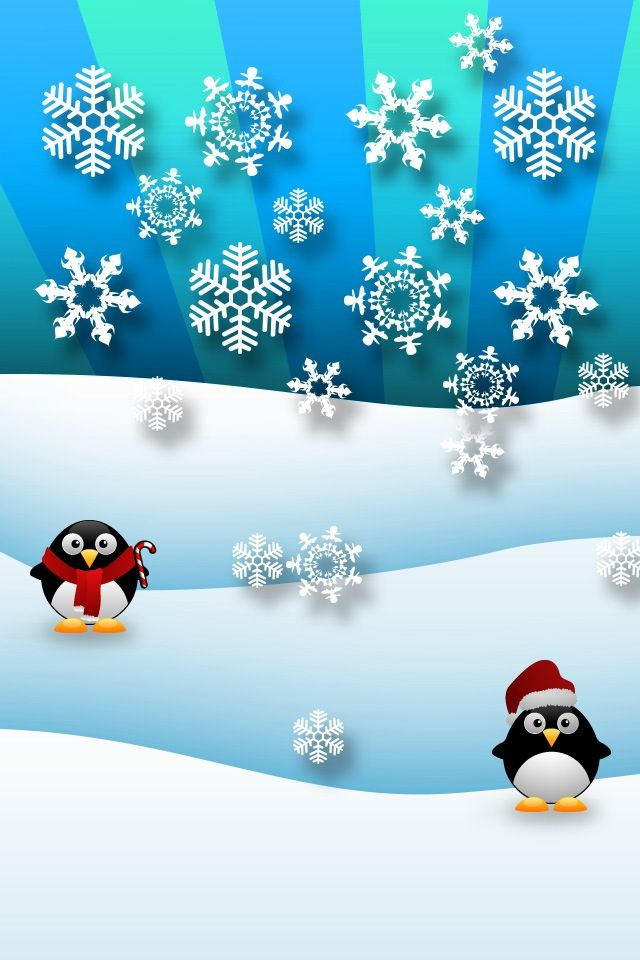 christmas wallpaper for iphone penguins iphone wallpaper background iphone wallpaper 13814