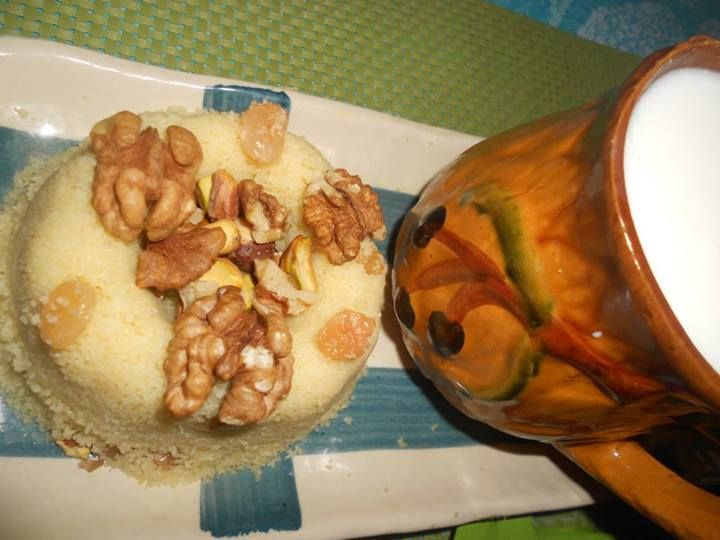 Mesfouf couscous Algérien