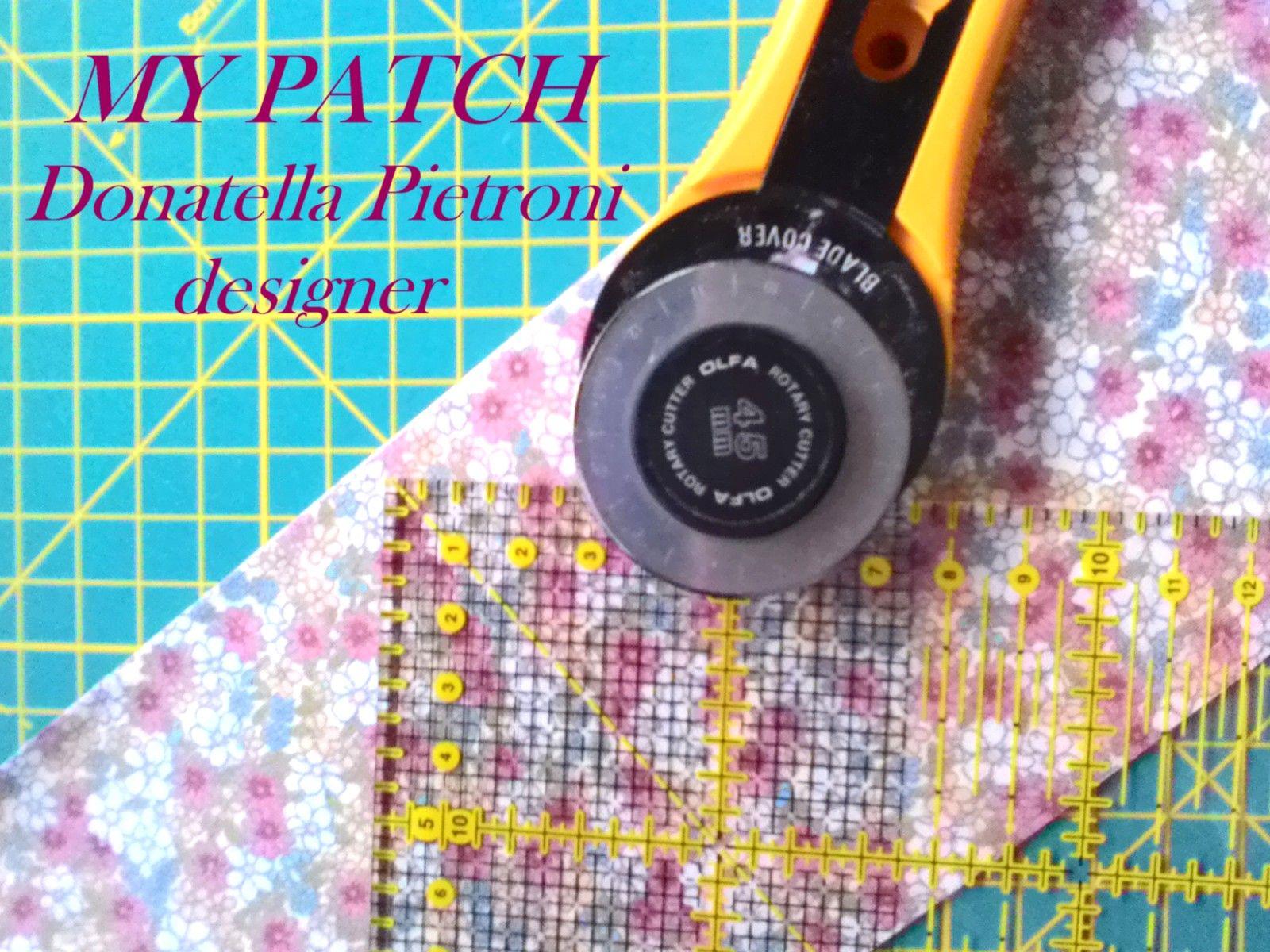 I miei lavori di patchwork - Donatella Pietroni designer