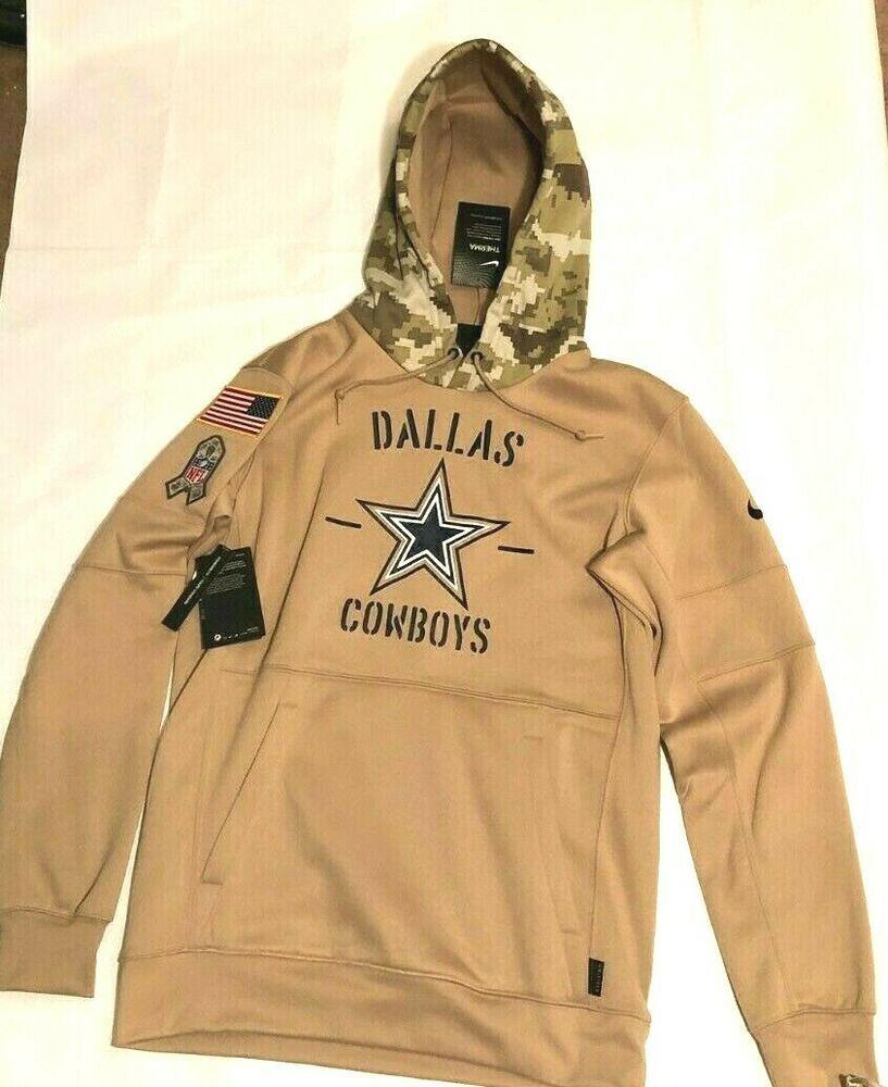 Nike Dallas Cowboys Therma Salute To Service Hoodie Sweatshirt Mens S At6728 099 Nike Dallascowboys In 2020 Mens Sweatshirts Sweatshirts Hoodie Hoodies