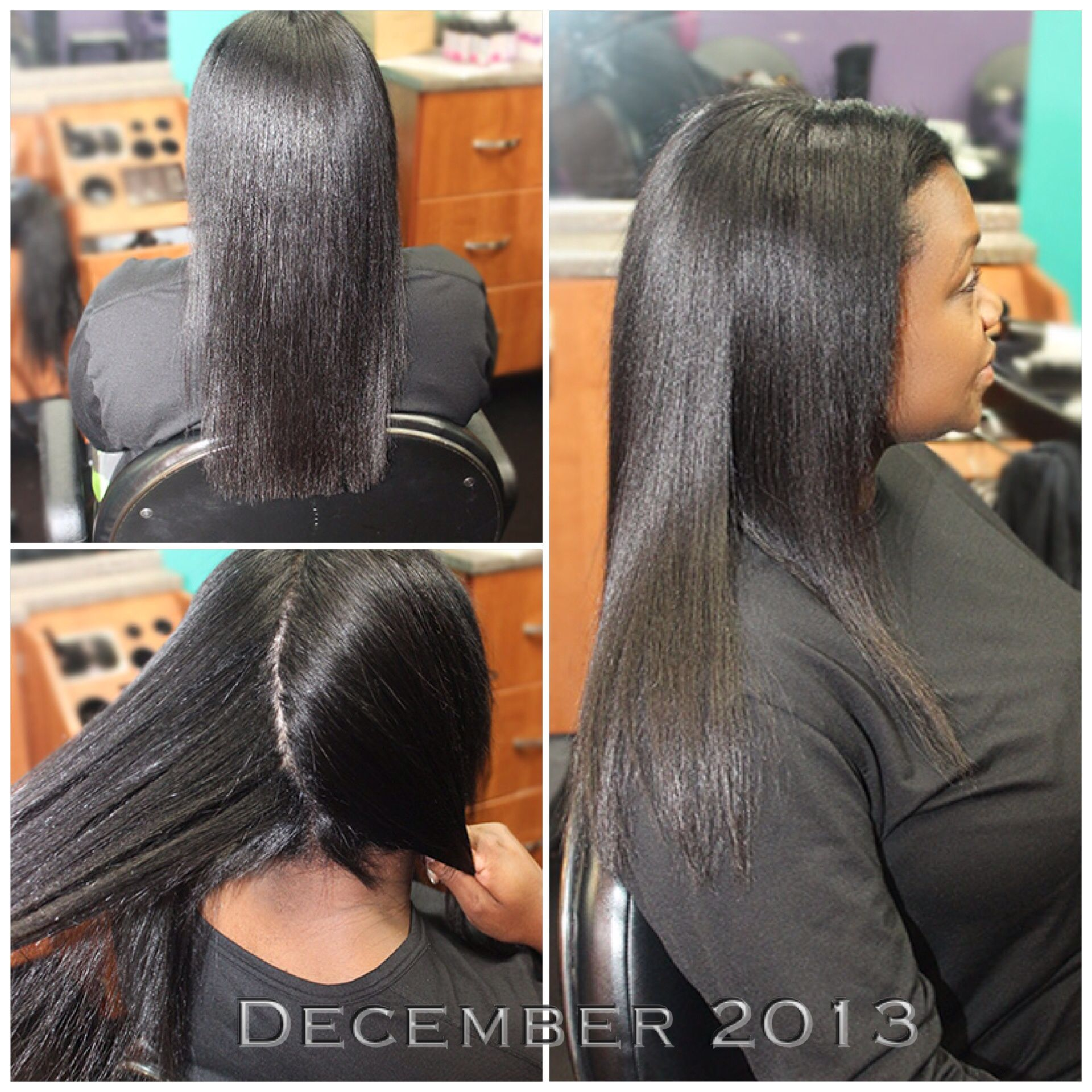 Hair Growth From 1 Year Of Wearing Hairtenders Signature Sew In