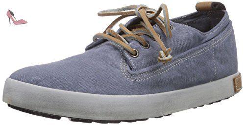 Blackstone JL56, Sneakers basses femmes - Bleu - Bleu indigo, 41 EU